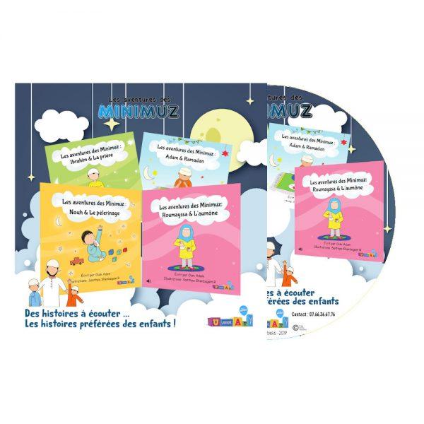 CD Audio - Histoires pour enfant à écouter